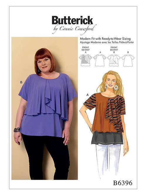 Butterick B6396 Designer - Shirt by Conny Crawford