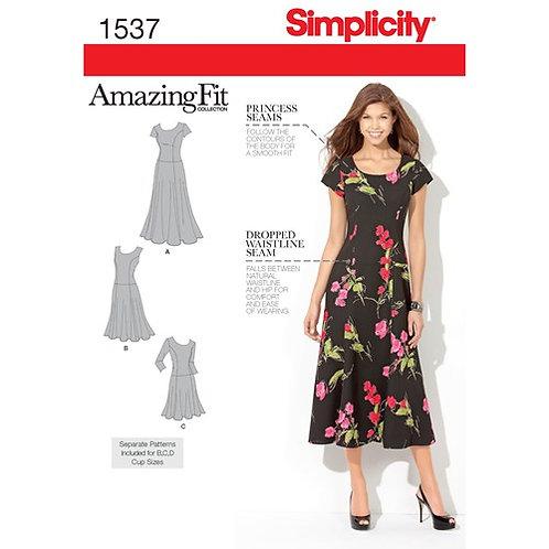 Simplicity 1537 schwingendes Sommerkleid