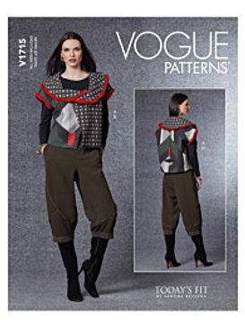 Vogue V1715 Weste und Hose