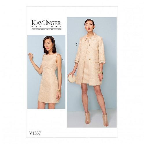 Vogue V1537 Kleid & Jacke by Kay Unger