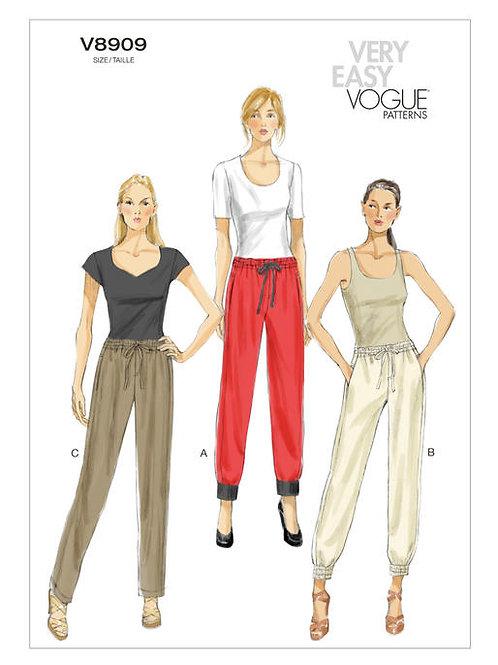 Vogue V8909 Jogginghose