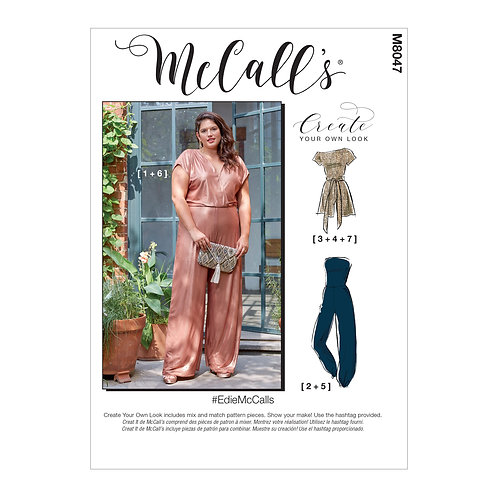 McCall`s M8047 Overall