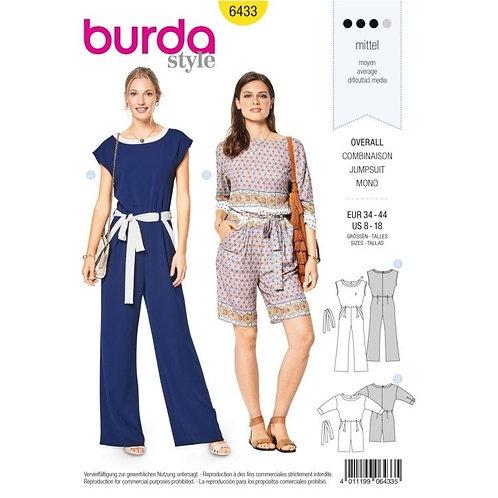 Burda 6433 Overall