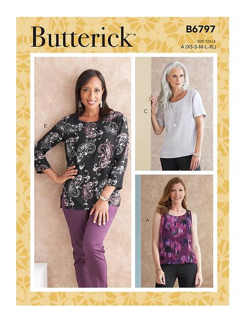 Butterick B6797 Bluse