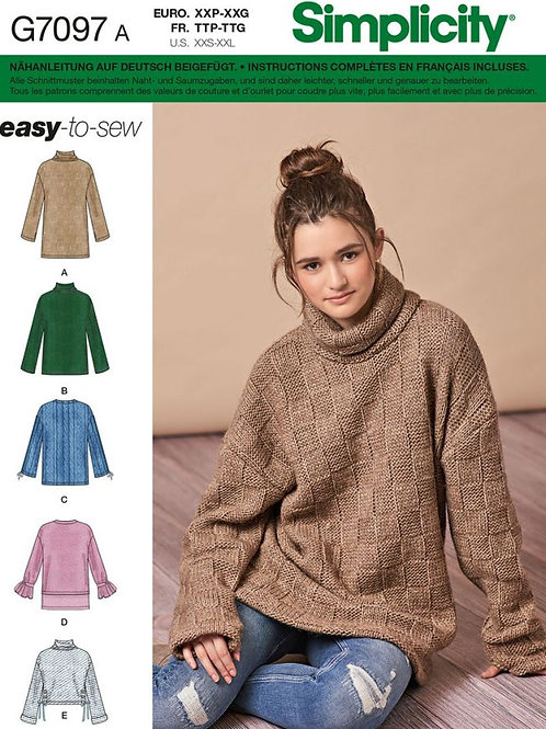Simplicity 7098 Pullover