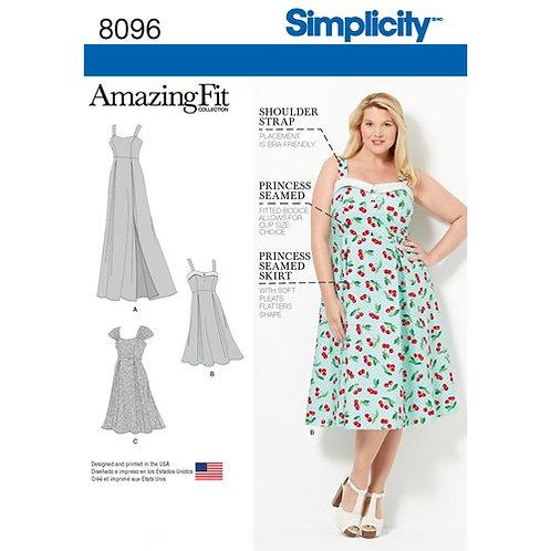 Simplicity 8096 sommerliches Kleid