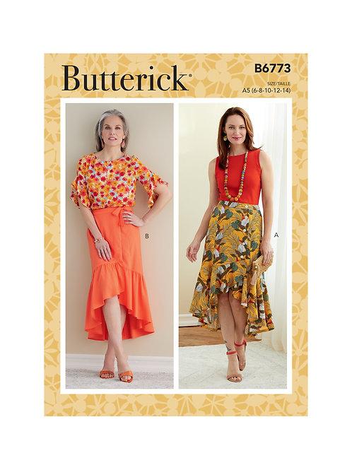 Butterick B6773 Rüschenrock
