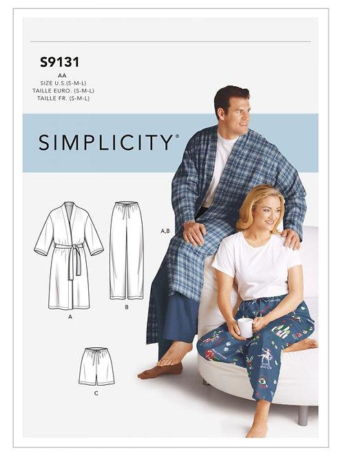 Simplicity 9131 Schlaf oder Freizeit für Ihn oder Sie