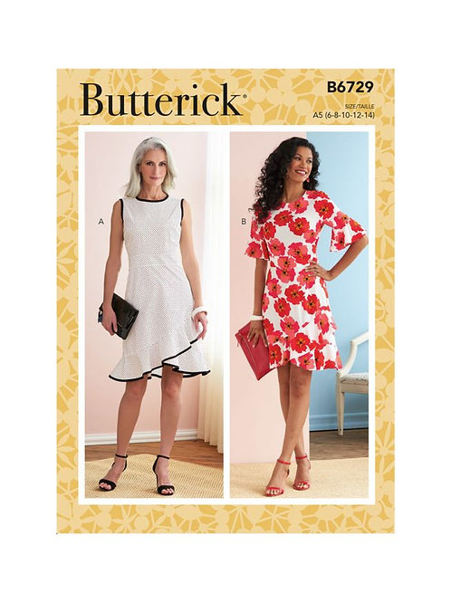 Butterick B6729 Sommerkleid