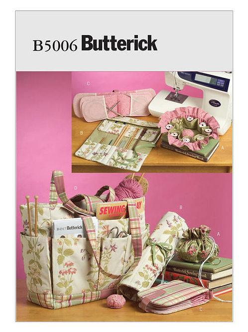Butterick B5006 Tasche für Nähutensilien