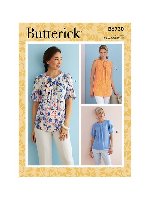 Butterick B6730 Sommerbluse