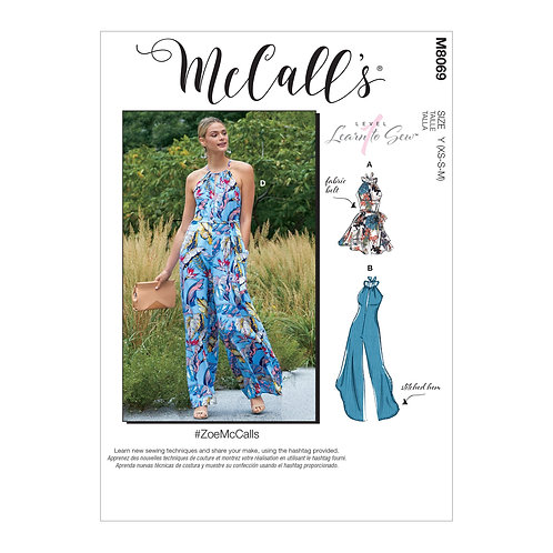 McCall`s M8069 Overall
