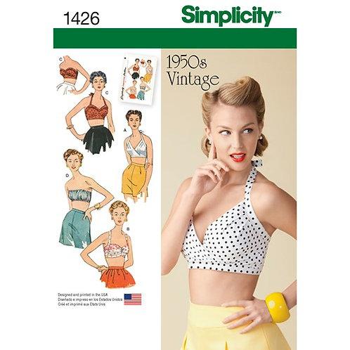 Simplicity 1426 Vintage BH - Top
