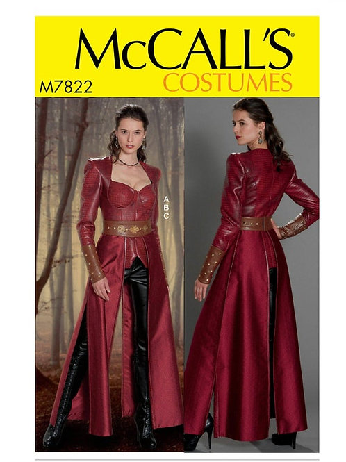 McCall`s M7822 Historische Kleidung