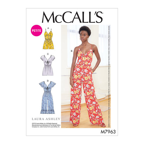 McCall`s M7963 Overall