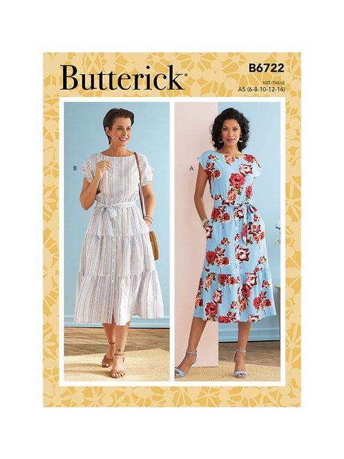 Butterick B6722 Kleid