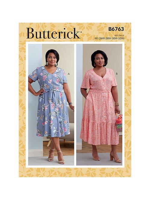 Butterick B6763 Kleid