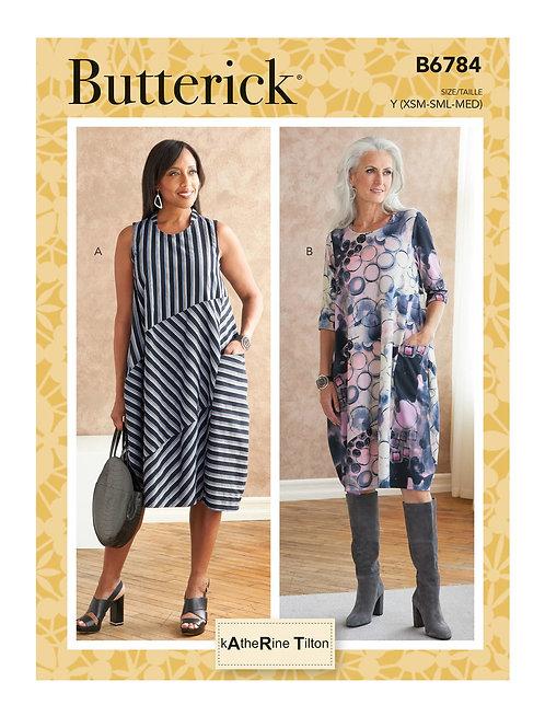 Butterick B6784 Kleid