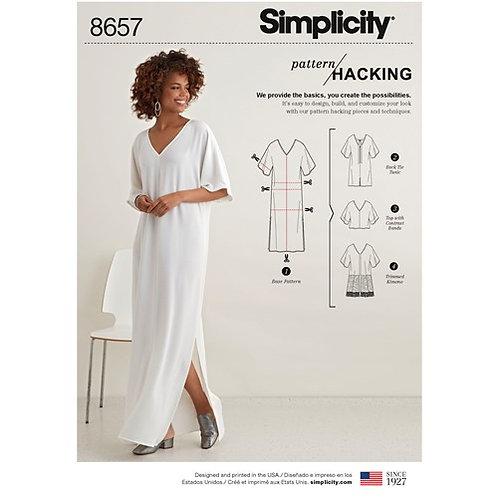 Simplicity 8657 Kreativ - Kaftan