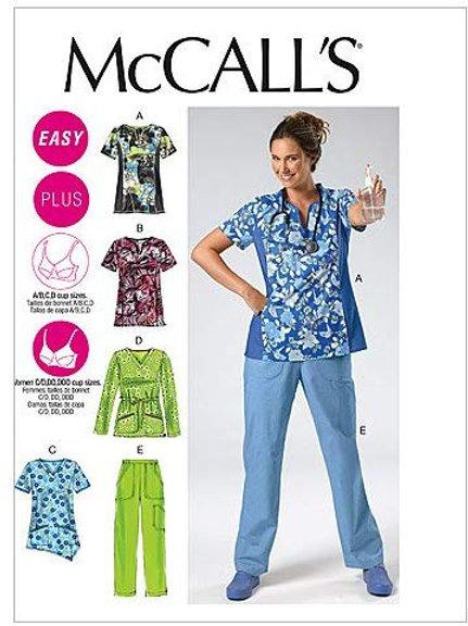 McCall`s M6473 Shirt und Hose für Beruf