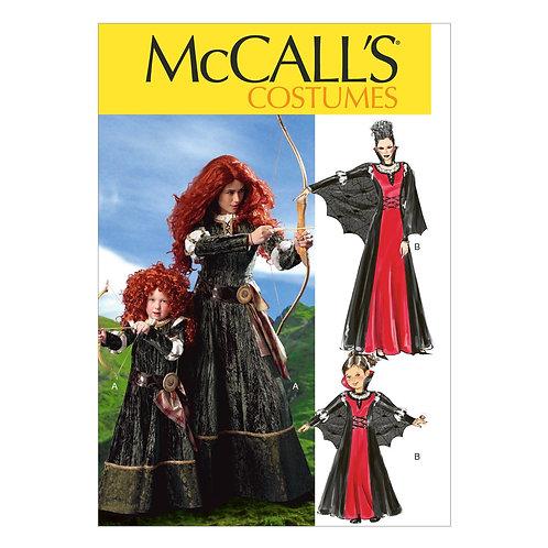 McCall`s M6817 Historisch für Mutter und Tochter