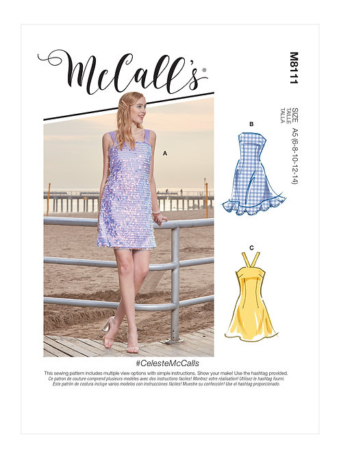 McCall's 8111 Kleid