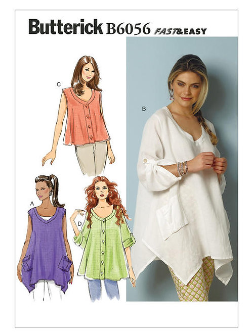 Butterick B6056 Top