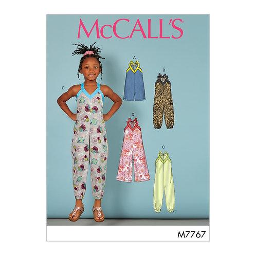 McCall`s M7767 Kinderoverall