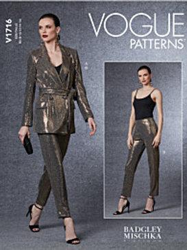 Vogue V1716 Bindejacke und Hose