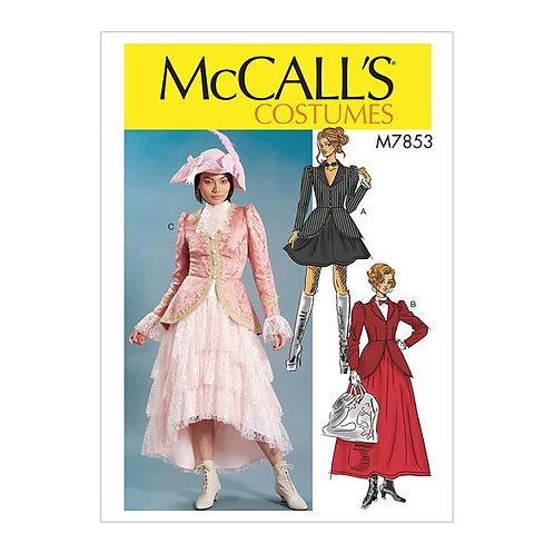 McCall`s M7853 Damen-Faschings-Kostüm