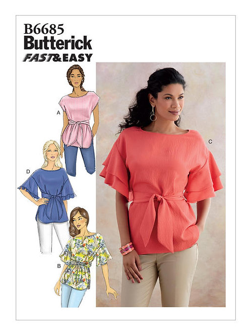 Butterick B6685 weite Bluse