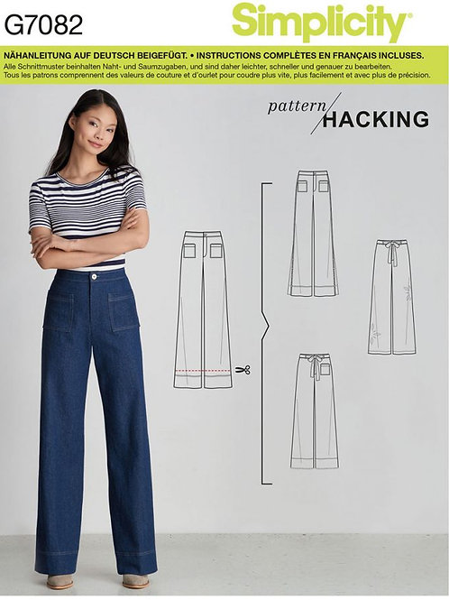 Simplicity 7082 Jeanshose