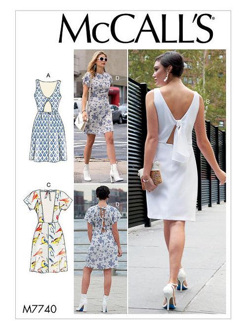 McCall's 7740 Sommerkleid mit Variationen