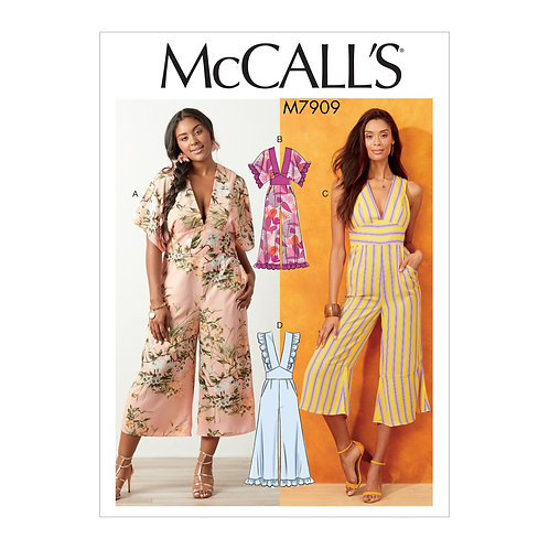 McCall`s M7909 Overall