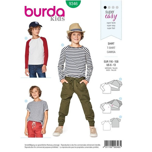 Burda 9346 cooles Sweatshirt