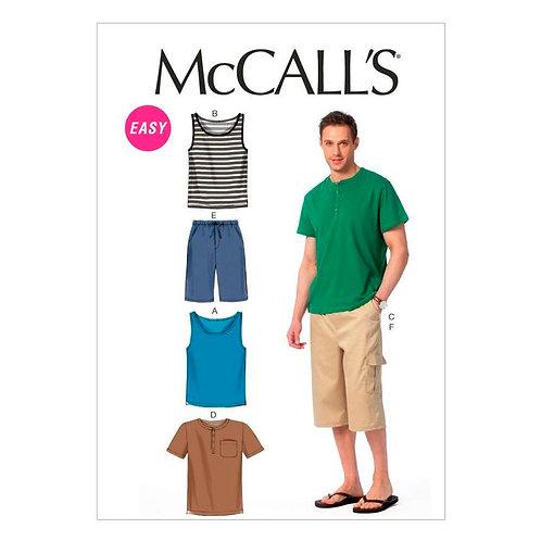 McCall`s M6973 Herren-Shirt und Hose