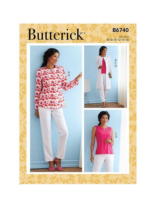 Butterick B6740 Kombination