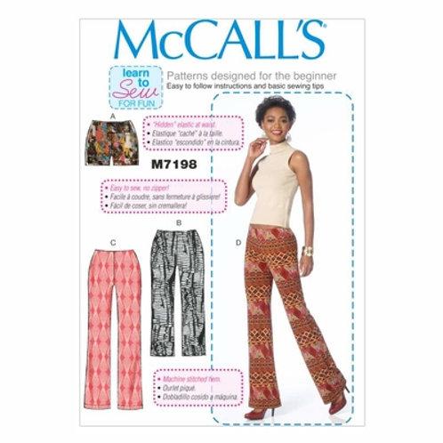 McCall`s M7198 Hose