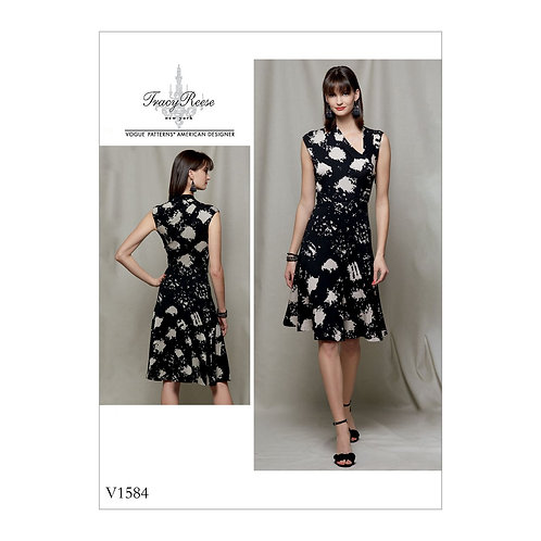 Vogue V1584 Jerseykleid by Tracy Reese