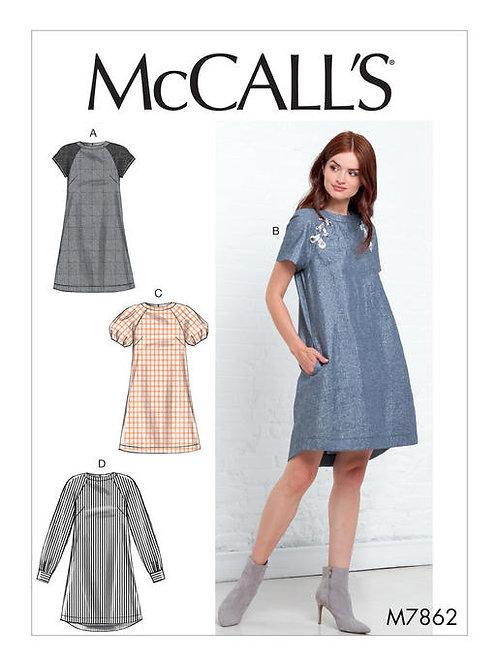 McCall's 7862 Hängerchen mit Varianten