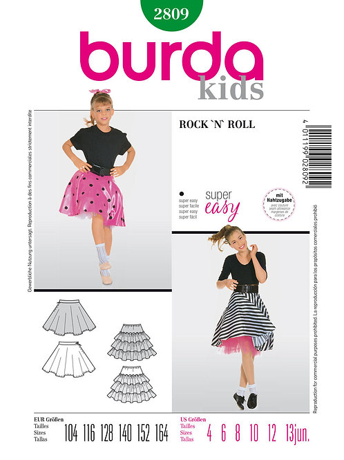 Burda 2809 Rock 'n' Roll