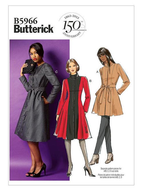 Butterick B5966 Mantel & Jacke