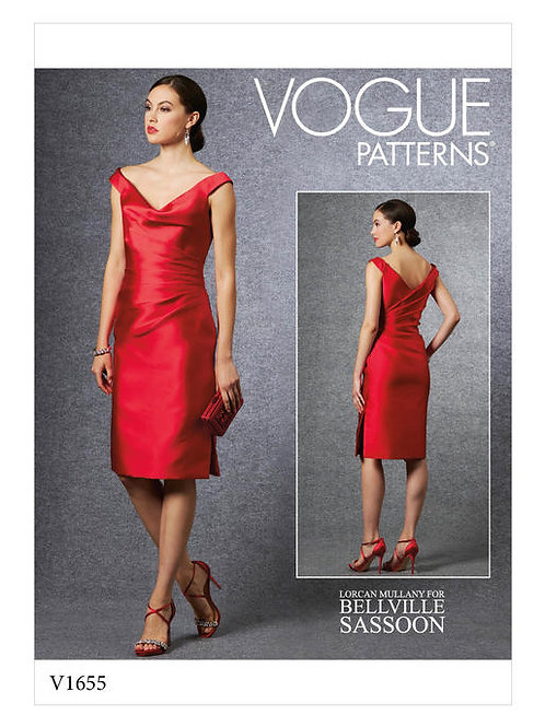 Vogue V1655 Cocktailkleid by Bellville Sassoon