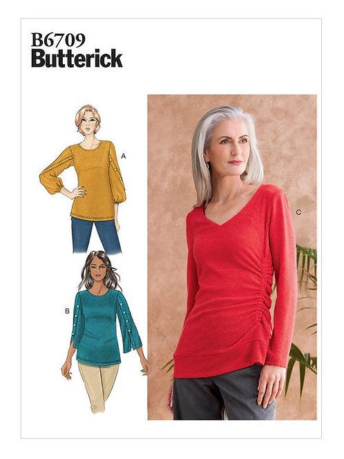 Butterick B6709 Shirt mit Details
