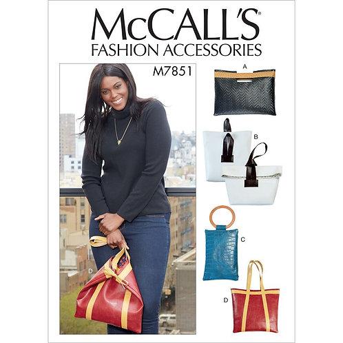 McCall`s M7851 Tasche