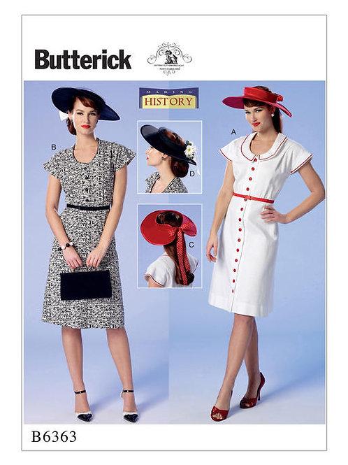 Butterick B6363 Nachmittagskleid