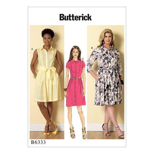 Butterick B6333 Hemdblusenkleid