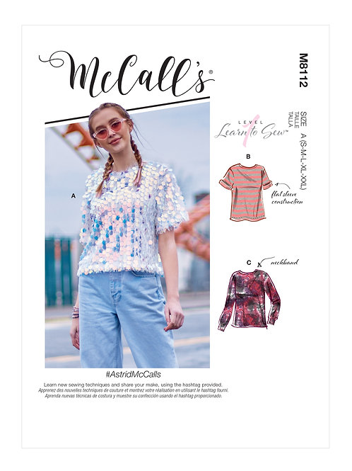 McCall's 8112 Shirt