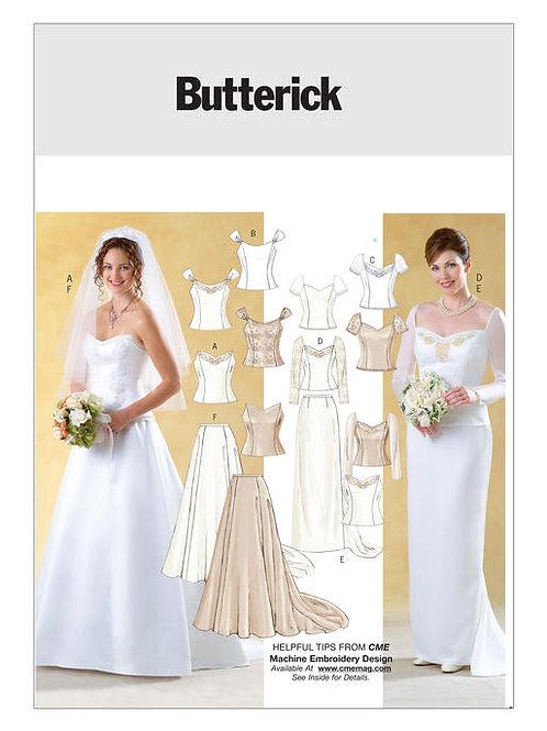 Butterick B4131 Brautkleid