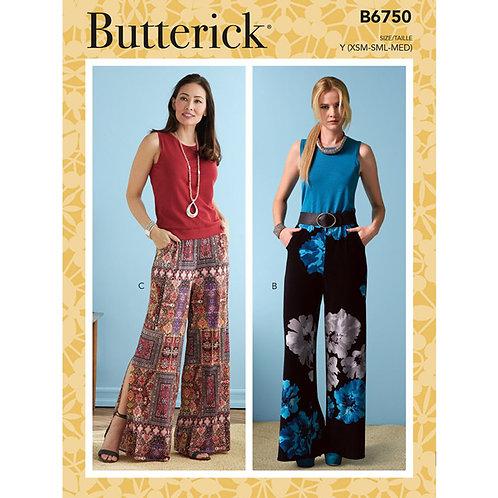 Butterick B6750 bequeme Hose